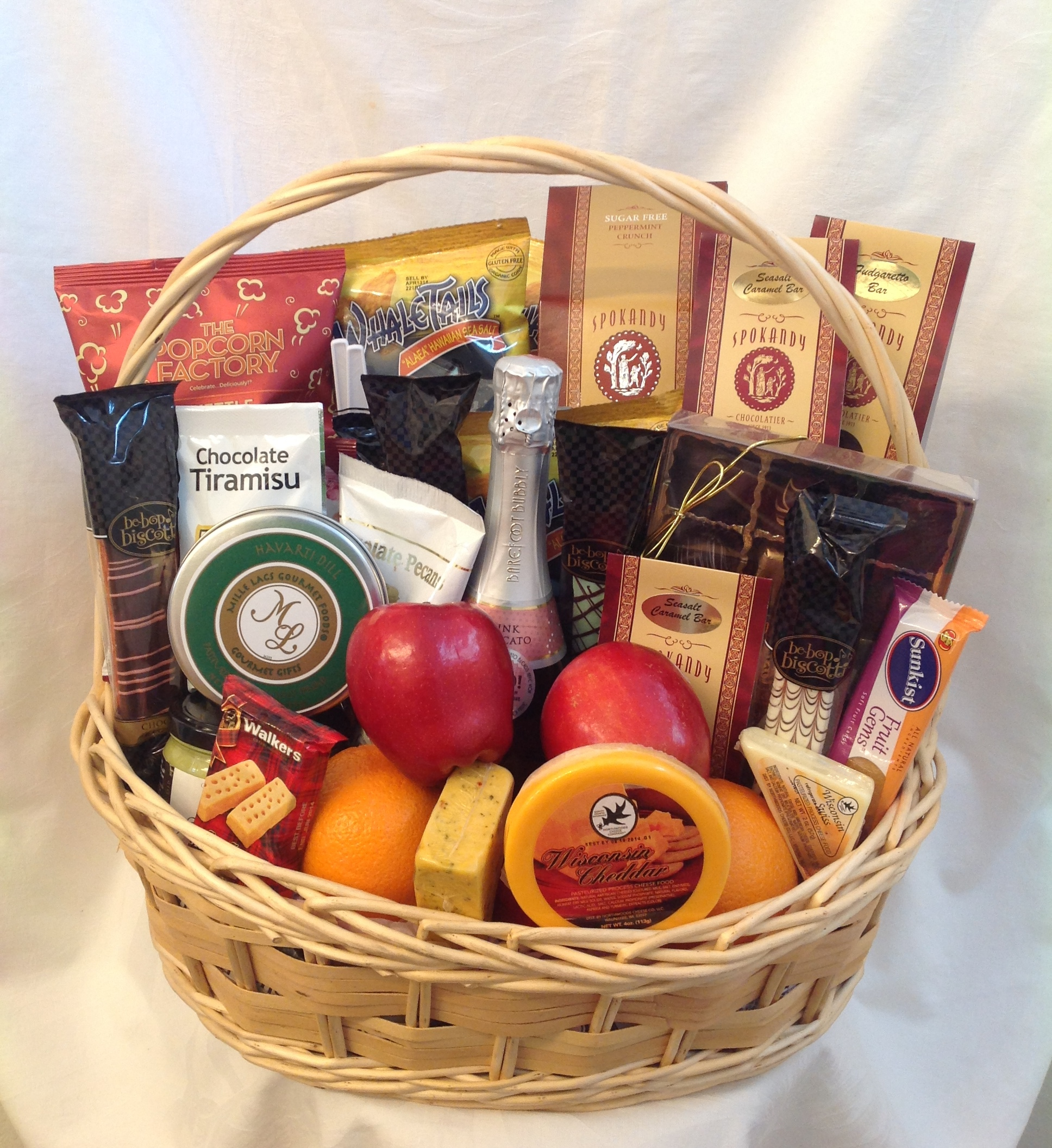 Birthday Celebration Gift Basket - Sunshine Baskets