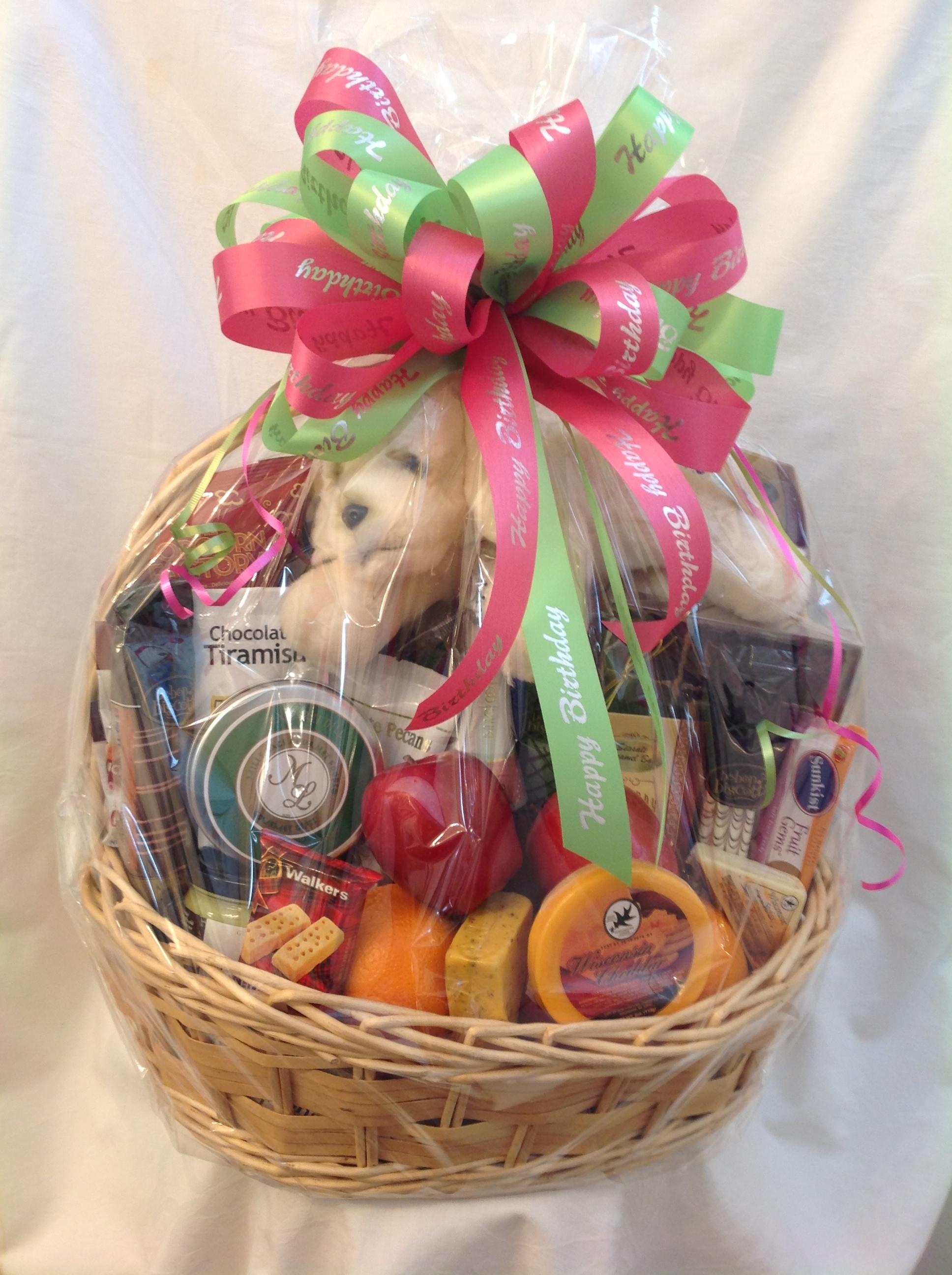Birthday Celebration Gift Basket - Sunshine Baskets