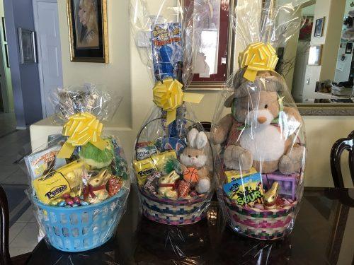 Custom designed Easter Baskets by Snshine Baskets & Gifts