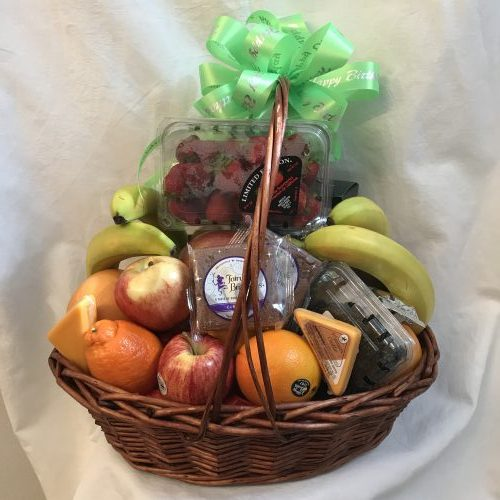 Fresh Fruit Gift Basket by Sunshine Baskets & Gifts