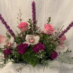 Touch of Elegance Table Centerpiece M19 by Sunshine Baskets & Gifts.